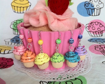 Fruit Cupcake Earrings