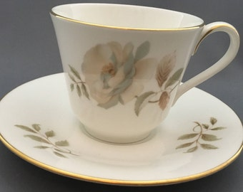 Royal Doulton Yorkshire Rose Tea Cup and Saucer