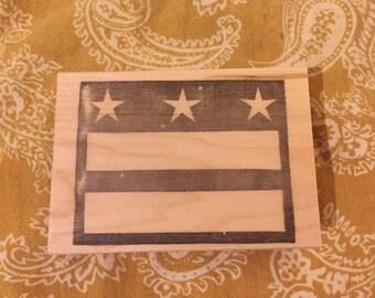 DC Flag Stamp