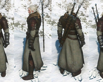 Geralt of Rivia Superior Ursine Armor Theatrical Quality Costume Set