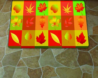 Leaves Kitchen Mat