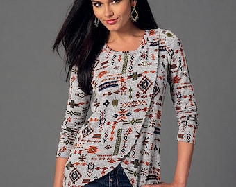 McCall's Pattern M7247 Misses' Tops