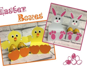 Easter Bunny & Chick Boxes