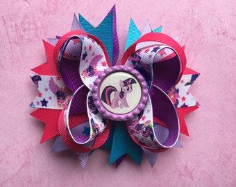 My Little Pony Twilight Sparkle Hair Bow