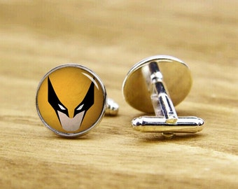 Trending Cufflinks, Custom Superheros Cufflinks, Custom Wedding Cufflinks, Groomsman Cuff Links, Personalized Cufflinks, Tie Clips, Or Set