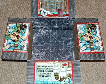 Care Package Kit - LDS Missionary 'Greenie' Kit - 'O Ye that Embark' - INSTANT DOWNLOAD