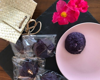 The Trendy One (Ube/Purple Yam Cookie with White Chocolate Chips and Walnuts)