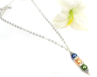 Pearl Birthstone Necklace: Personalized Mother's Day Gifts For Mom, For Grandma