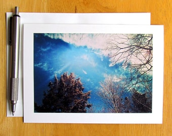 Sky Note Card, Notecards, Stationery Cards, Blank Cards, Photo Note Cards, Cards with Envelopes, Nature Note Cards, Sky Photography, Cards