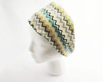 Chevron Headband - Fitness headband - Non Slip Headband - Wide headband - Ready to Ship