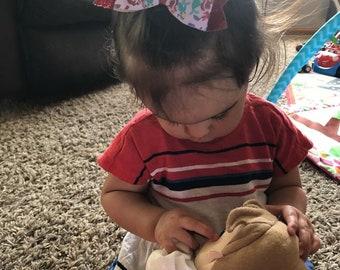 Little Mermaid Bow | Toddler | Headband