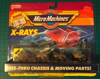 Micro Machine Xray Collection 2, in Original Packaging, circa 1990