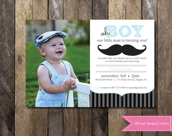 Instant download editable mustache birthday invitation 1st little man mustache first birthday invitation little man invitation mustache invitation little man filmwisefo