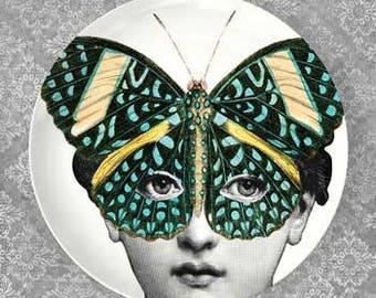 Cavalieri Butterfly mask II plate