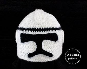 Clone hat crochet pattern!