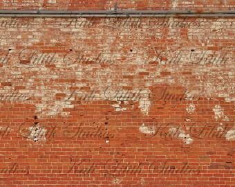 Brick Wall/Digital Backdrop/Brick Wall Texture/Digital Background/Red Brick Wall/Background Stock/Instant Download