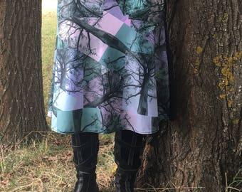 Ghost Gum Landscape Skirt