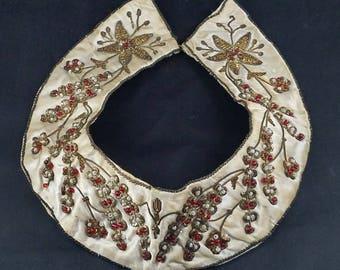 Handmade Beaded Collar 1960s