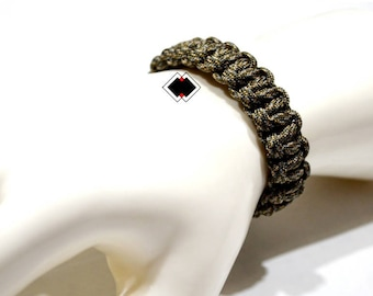 paracord survival bracelet infiltrate camo handmade in USA