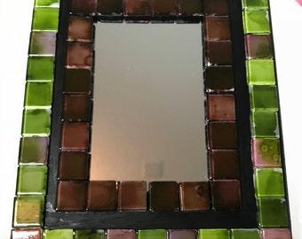 Glass Tile Mirror