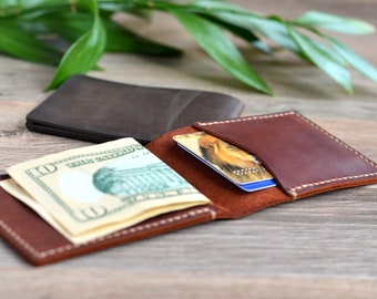 Leather Wallet Minimalist Leather Wallet Leather Billfold Mens Leather Wallet Small Leather Wallet Small Leather Wallet Slim Leather Wallet