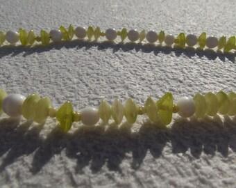 Vintage beads of sea breeze