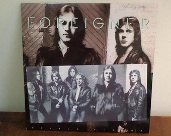 Vintage 1978 Record Foreigner Double Vision Excellent Condition Alternate Cover 15230