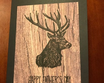 Deer Father's Day Card