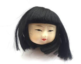 Kawaii Japanese Doll Head - Doll Body Part - D18-2 Girl Head