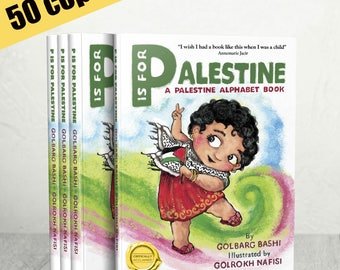 Wholesale 50 copies of Third Edition of 'P is for Palestine' - available to ship in March, 2018