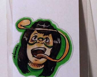 Froppy BNHA Hand-Made Sticker