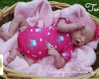 Reborn Baby, Twin A by Bonnie Brown, Custom Order, 6-8 week ship time
