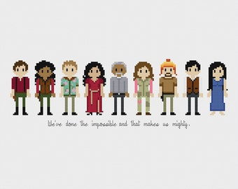 Firefly/Serenity Gang Cross Stitch Pattern PDF Instant Download