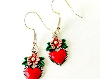 Frida's Heart Earrings