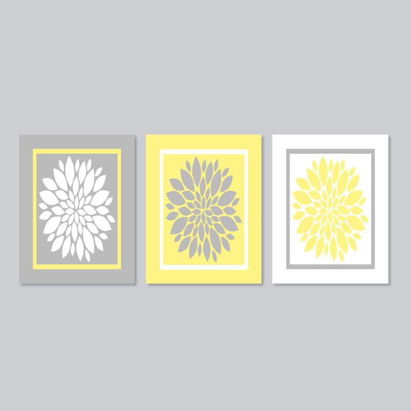 Bathroom Wall Decor Prints Or Canvas Bathroom Wall Art Yellow