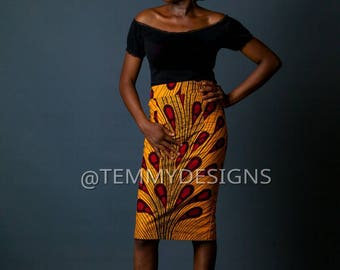 African pencil skirt, African print skirt, Ankara print skirt, women clothing, African dress, African clothing for women, skirt,pencil skirt
