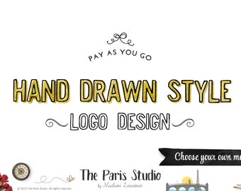 Custom logo design leafy hand drawn logo wreath logo photography logo restaurant logo boutique logo website logo blog logo business branding