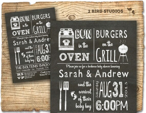 Bbq baby shower invitation baby q bbq baby shower invite bbq baby shower invitation baby q bbq baby shower invite diy barbecue co ed couples shower printable invite filmwisefo Gallery