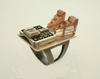 Nuclear  Power Energy       RING.    One  Off.