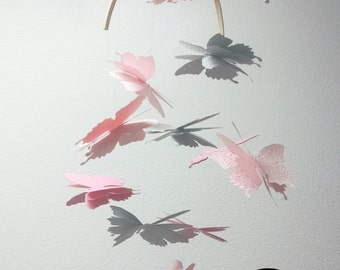 Ready to ship - Dreamy Butterfly Mobile