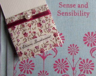 Bookmark Elinor Dashwood - Sense and Sensibility - Jane Austen
