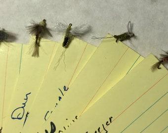 Hand Tied Fishing Flies-Mayflies