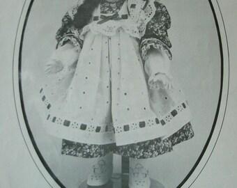 "Karen Ann's Doll Patterns ""Jennifer"" 19"" Dress for Doll - Created by Karen Ann Sanchez Dated 1981"