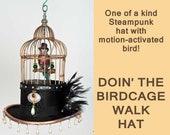 Birdcage Hat    Steampunk...