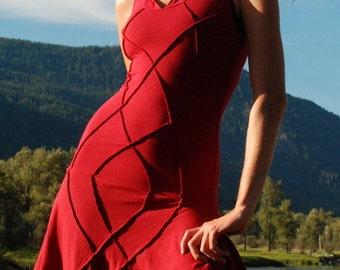 Sleeveless Goddess Of the Galaxy Dress