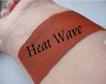 Heat Wave - Rustic Orange Cream Liquid Matte Lipstick - Matte Lipstick VEGAN Lips Mineral Makeup Goth Pastel Goth