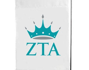 Zeta Tau Alpha, ZTA, Zeta Tau Alpha Flag, Zeta Tau Alpha Garden Flag, ZTA Flag, ZTA Garden Flag, big little, sorority flag, sorority gift