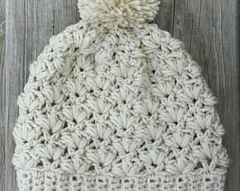 Budding Blossoms crochet hat pdf pattern