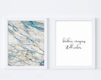 Broken Crayons, Still Color, Inspirational Art, Broken Crayons Quote, Instant Download, Bedroom Art, Feminine Art, Printable Art, Girl Power
