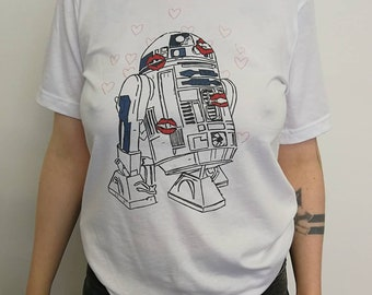 R2D2 is my DREAMBOT t-shirt / feminist tshirt / funny shirt / Star Wars / vegan